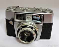 Agfa Super Silette - 35mm viewfinder film camera with built-in selenium meter (1956)