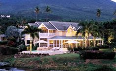Four Seasons Resort in Nevis the sister island of St Kitts in the Caribbean