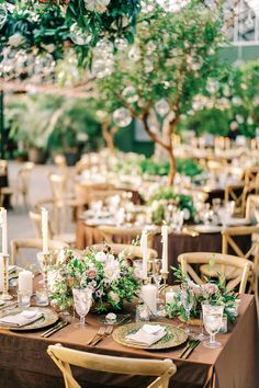 We have a major crush on this enchanted forest wedding that took place in a twinkle lit greenhouse. With a wooden stump seating chart, walnut velvet linens and a 92 year old flower grandma, we cannot wait for you to glimpse this magical woodland wedding day! Forest Wedding Reception, Tent Reception, Winter Wedding Flowers, Rooftop Wedding, Luxe Wedding, Ballroom Wedding, Wedding Reception Decorations, Wedding Ideas, Protea Bouquet