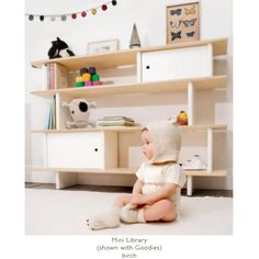 MINI LIBRARY by Oeuf... super cute, but way too expensive for us.