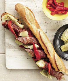 double grilled antipasto sandwich