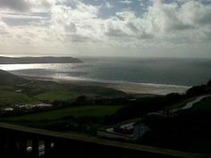 View from Caravan C21 at Woolacombe Bay Holiday Village