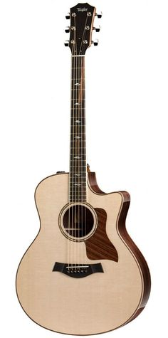 Steel String Guitar A versatile Grand Auditorium with cutaway for easy access to upper frets - one of the best-selling Taylor models. Music Guitar, Acoustic Guitar, Taylor 814ce, New Tone, Taylor Guitars, Bass, Music Instruments, Cutaway, Electric