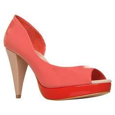 """""""Court shoe"""" (UK) Shoes Uk, New Shoes, Court Shoes, Window Shopping, Ireland, Peep Toe, Heels, Fashion, Heel"""