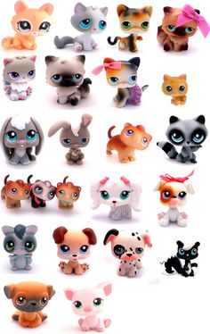 My cousin has most of these, well she did!! She was supposed to give all of them to me!!!! But she gave them to her other cousin!