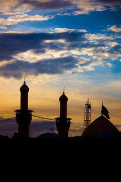 """""""هي الشمس تخجل حين تطل على قبتك ….يا حبيبي يا حسين """""""
