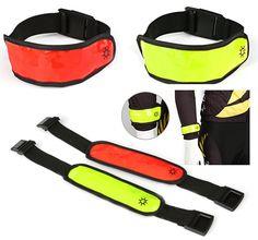 Biztonsági LED szalag sportoláshoz, túrázáshoz, biciklizéshez vagy bármilyen...-Akciós ár:690 Ft