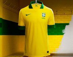 Nike apresenta nova camisa da Seleção