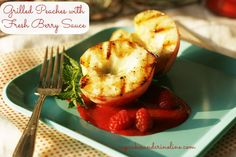 Grilled-peaches-with