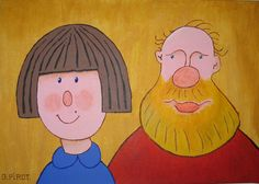Peinture acrylique - couple autoportrait Creations, Self Portraits, Acrylic Paintings, Coloring Pages