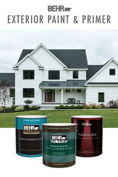 Ready to start off the new decade with some upgraded curb appeal? Start with BEHR? Exterior Paint & Primer, offering premium quality and a spectrum of beautiful colors for your project. Click below to learn more.