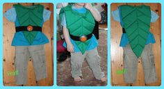 Tree Fu Tom Costume Tutorial - Dreaming of a Craft Room
