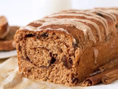 This cinnamon raisin bread is made healthier with spelt flour, honey, and coconut oil and is relatively easy compared to other whole grain bread recipes!