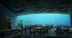 Snøhetta's underwater restaurant