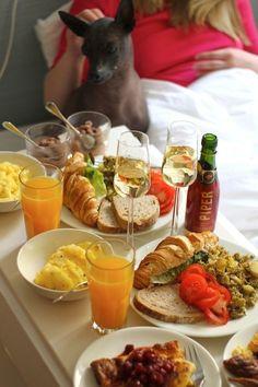Lovely breakfast recepies by Isyyspakkaus/Lily.fi