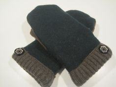 Houghton Wool Mittens  med/lg  MMC465 by MichMittensbyLauri, $23.00