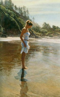Piccsy :: Watercolor Paintings by Steve Hanks