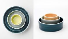 Handcrafted ceramics // Susan Frost, ph. Grant Hancock