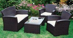 Wie findet ihr unsere neuen Garten-Loungemöbel von Wohnprofi? Ich finde sie klasse. Jetzt kann der Sommer kommen. Fehlt eigentlich nur noch der Grill und ein Pool.