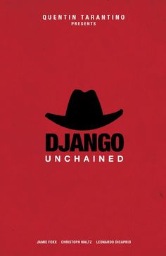 #django #movie #poster #illustration
