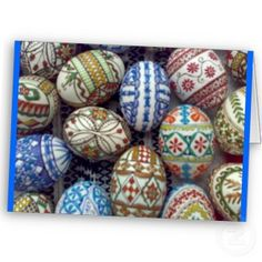 Romanian Easter Decorated Eggs