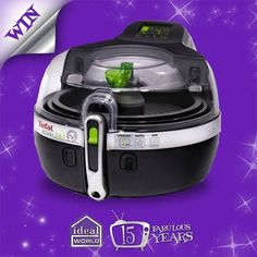 Create 'My Ideal birthday' board on Pinterest, follow us and add the Tefal Dual Actifry to #win. #15YearsOfFab
