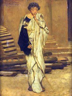 Lawrence Alma-Tadema - The Roman Architect