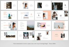 VOLKSHA - Powerpoint Template by TempLabs on Creative Market