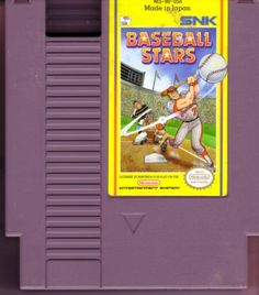 Baseball Stars for Nintendo. If anyone has one of these around, I'll take it off your hands.