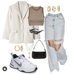 Kpop Fashion Outfits, Indie Outfits, Tomboy Fashion, Retro Outfits, Cute Casual Outfits, Look Fashion, Streetwear Fashion, Stylish Outfits, Mode Dope