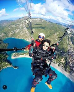 What are you up to when on holiday? @oktayceran clearly prefers some outdoor activities like paragliding. Taken in Fethiye Turkey. #thomascook Hotels-live.com via https://www.instagram.com/p/BB-mhe7KiR8/ #Flickr