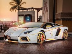 Gold-Plated Lamborghini Aventador: There Can Be Only One
