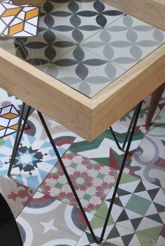 Mesa mosaicos diseñada y producida por El Mosaista