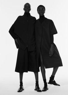 High necks & perfect lines // Atong Arjok, Mari Agory, Mari Malek, Nykhor Paul, Suited Magazine, Paul Jung