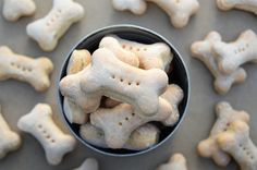 This simple recipe for easy milk bone dog treats will keep your pups happy. No need to purchase store-bought dog biscuits anymore! Only 3 ingredients.