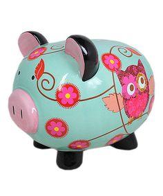 Cute Owl Piggy Bank!