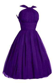 Victoria Dress Fashion A-Line Short Chiffon Pageant Bridesmaid Dresses for Girls at Amazon Women's Clothing store: