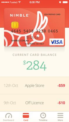 Card #mobile #ui