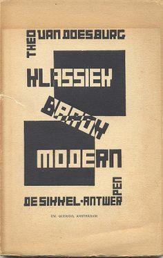 Theo van Doesburg, De Stijl, 1920