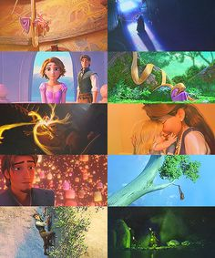 Tangled is full of colours