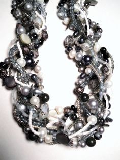 Winter Fog multi strand necklace from Etsy. This artist goes to my church and is SO talented... nice too!