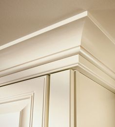 109 Best Crown Molding Over Cabinets Images In 2017 Kitchens