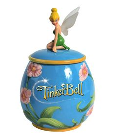 Take a look at this Tinker Bell Cookie Jar by Familiar Favorites: Magical Accents on #zulily today!