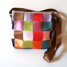 Multicolored Seatbelt Crossbody Shoulder Purse Shoulder Bag w/ Adjustable Strap  #Unbranded #MessengerCrossBody