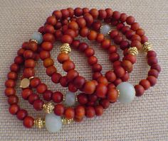 Mala Inspired Bracelet by gwensofferjewelry on Etsy, $55.00