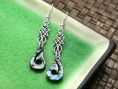 Jewelry Making Designs - Celtic Tale Earrings
