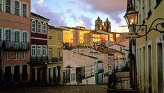 Pelourinho, the oldest and most genuine neighbourhood in Salvador de Bahía