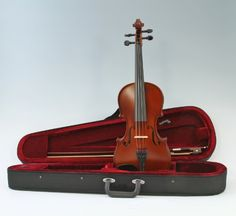 Amazon.com: The Instrument Store TIS-200 Student Violin Full Size (4/4) with Ebony Fittings, Case and Bow: Musical Instruments