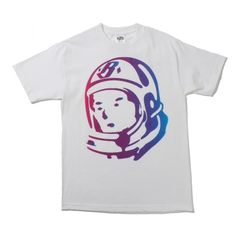 BBC Sunset Helmet Tee, (White/Purple) - RSVP Gallery
