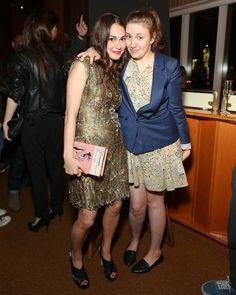 Audrey Gelman and Lena Dunham